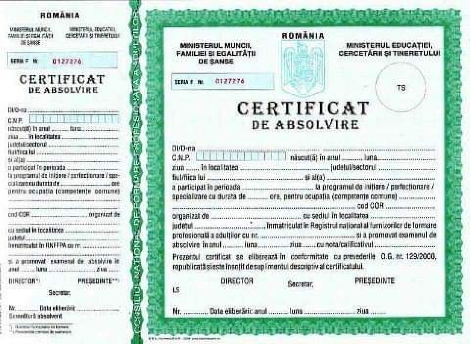 Calificări autorizate 3
